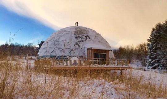 Căn nhà giúp gia chủ thảnh thơi tận hưởng cuộc sống ở Bắc Cực - Ảnh 4.