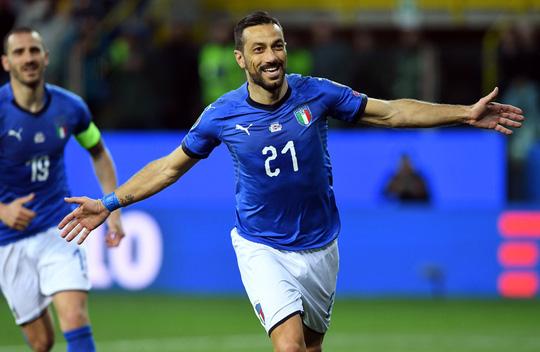 Sao 36 tuổi lập công, Ý tạo mưa bàn thắng ở vòng loại Euro 2020 - Ảnh 2.