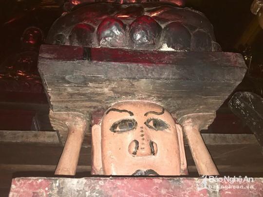 """Độc đáo bức tượng """"đầu người đội Phật"""" nghìn năm tuổi - Ảnh 3."""