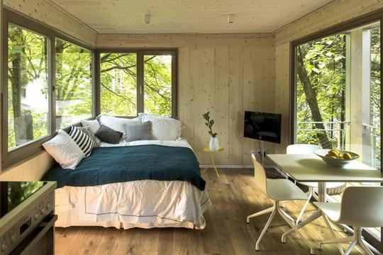 Ngắm ngôi nhà trên cây đẹp lãng mạn giữa đồi núi mênh mông - Ảnh 8.