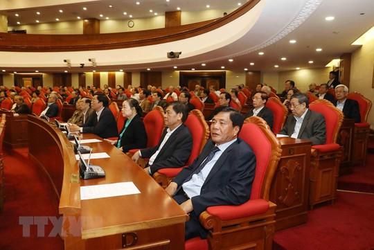Ban Bí thư Trung ương Đảng gặp mặt cán bộ lãnh đạo nghỉ hưu - Ảnh 10.