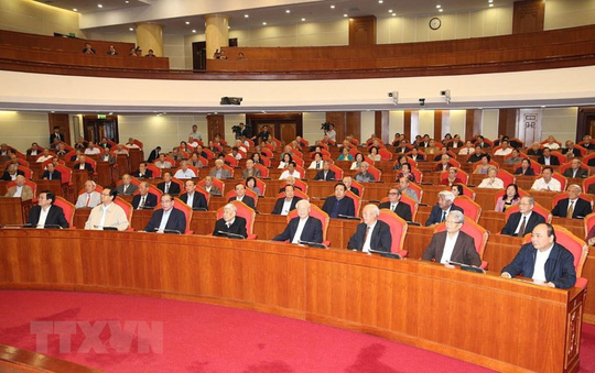 Ban Bí thư Trung ương Đảng gặp mặt cán bộ lãnh đạo nghỉ hưu - Ảnh 8.