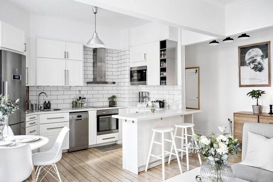 Phòng bếp mang phong cách hiện đại trong không gian chật hẹp - Ảnh 4.