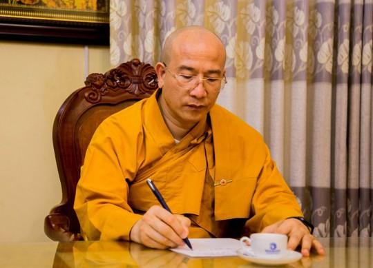 Giáo hội Phật giáo Quảng Ninh lên tiếng về việc cách chức trụ trì chùa Ba Vàng - Ảnh 1.