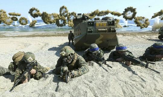 Mỹ - Hàn Quốc hủy tập trận lớn để ủng hộ đối thoại Triều tiên - Ảnh 1.