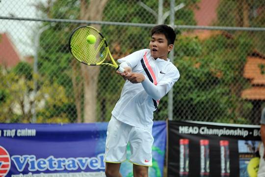 Các tay vợt trẻ TP HCM áp đảo, đàn em Lý Hoàng Nam chỉ giành 1 HCV - Ảnh 2.