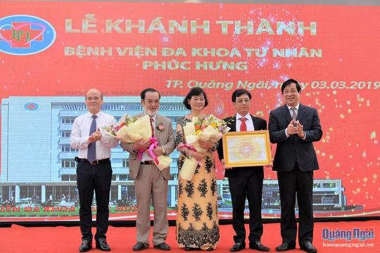 Bệnh viện gia đình đầu tiên tại Quảng Ngãi - Ảnh 1.