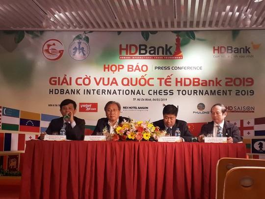 Gần 500 triệu đồng cho nhà vô địch Giải Cờ vua quốc tế HDBank 2019 - Ảnh 1.
