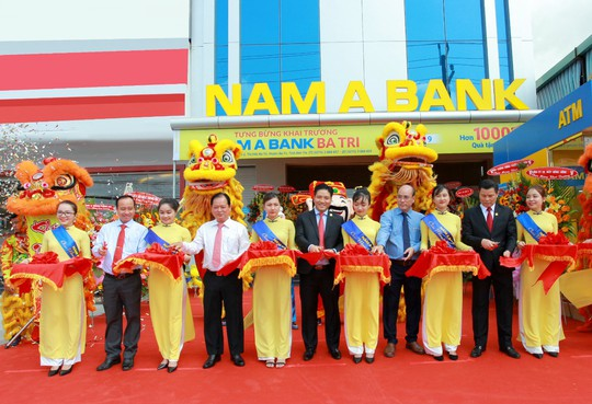 Nam A Bank không ngừng mở rộng mạng lưới - Ảnh 1.