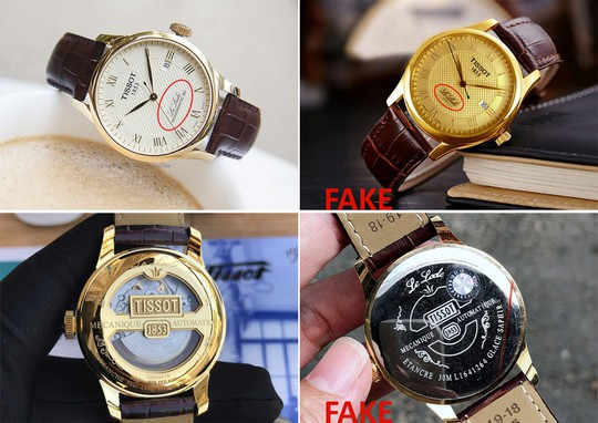 Giá vốn để làm 1 chiếc đồng hồ Tissot Fake loại 1 - Ảnh 1.