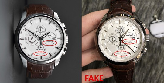Giá vốn để làm 1 chiếc đồng hồ Tissot Fake loại 1 - Ảnh 3.