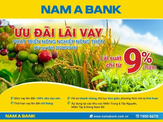 Nam A Bank triển khai hàng loạt gói tín dụng ưu đãi lãi suất - Ảnh 1.