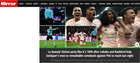 Báo chí Anh ngợi ca Man United sau kỳ tích hạ gục PSG - Ảnh 6.