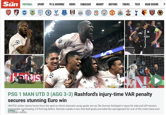 Báo chí Anh ngợi ca Man United sau kỳ tích hạ gục PSG - Ảnh 5.