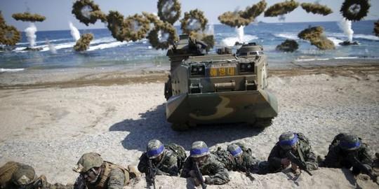 Mỹ - Hàn tập trận, Triều Tiên nổi giận - Ảnh 1.