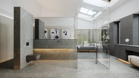 Mẫu thiết kế phòng tắm mở khiến bạn mê mẩn - Ảnh 12.