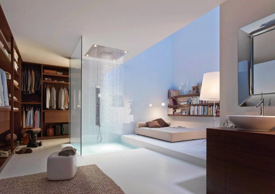 Mẫu thiết kế phòng tắm mở khiến bạn mê mẩn - Ảnh 14.