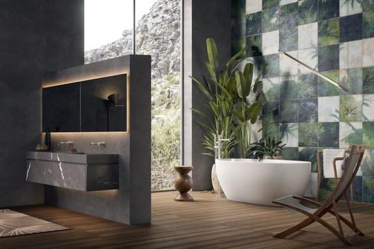 Mẫu thiết kế phòng tắm mở khiến bạn mê mẩn - Ảnh 3.