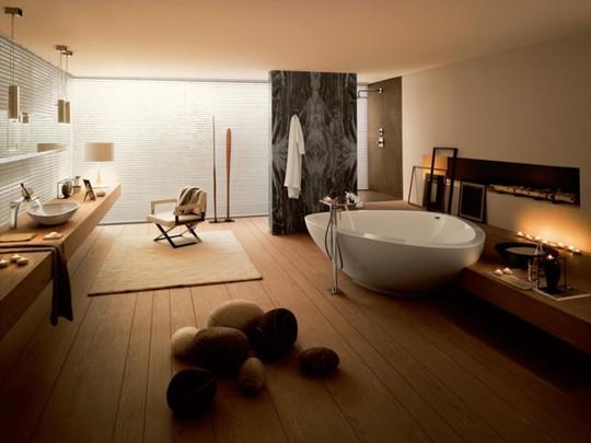 Mẫu thiết kế phòng tắm mở khiến bạn mê mẩn - Ảnh 8.