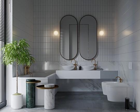 Mẫu thiết kế phòng tắm mở khiến bạn mê mẩn - Ảnh 9.