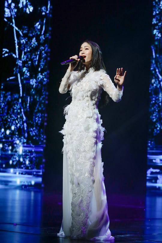 Mỹ nhân Sao Mai Tuyết Nga đăng quang Hoa hậu áo dài Việt Nam - Ảnh 4.