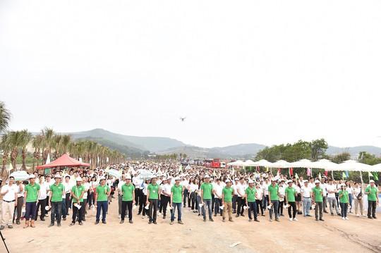 FLC: trồng 10.000 cây xanh tại Lễ phát động chiến dịch Go Green 2019 - Ảnh 1.