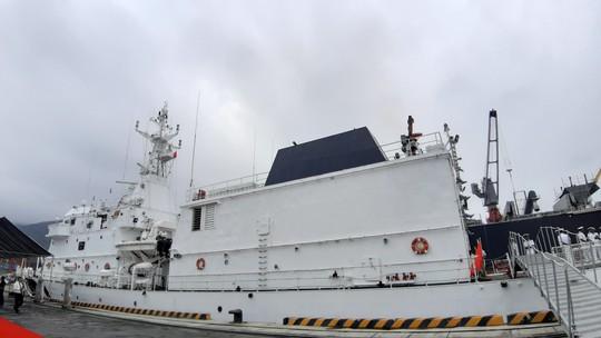 Tàu Lực lượng Bảo vệ bờ biển Ấn Độ thăm chính thức Đà Nẵng - Ảnh 3.