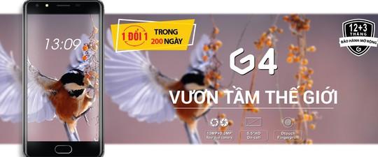 Ra mắt điện thoại BAVAPEN GEECOO G4 - Ảnh 1.