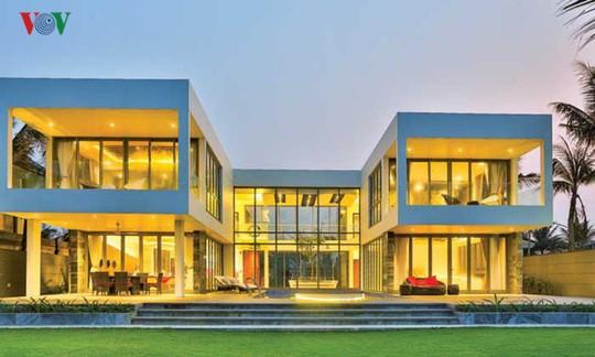Ngôi nhà với cảm hứng thiết kế từ đại dương - Ảnh 1.
