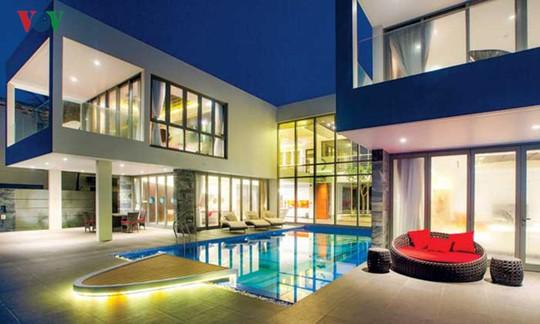 Ngôi nhà với cảm hứng thiết kế từ đại dương - Ảnh 2.