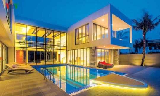 Ngôi nhà với cảm hứng thiết kế từ đại dương - Ảnh 14.