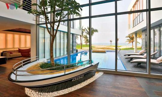 Ngôi nhà với cảm hứng thiết kế từ đại dương - Ảnh 4.