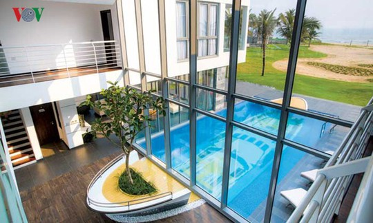 Ngôi nhà với cảm hứng thiết kế từ đại dương - Ảnh 5.