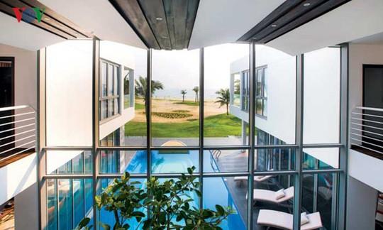 Ngôi nhà với cảm hứng thiết kế từ đại dương - Ảnh 6.
