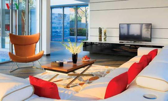 Ngôi nhà với cảm hứng thiết kế từ đại dương - Ảnh 8.