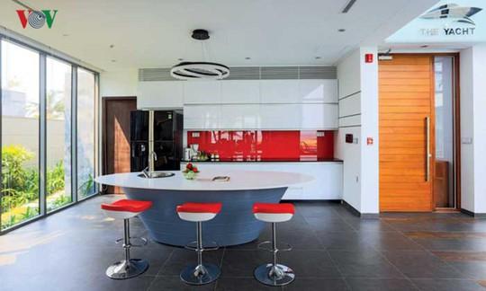 Ngôi nhà với cảm hứng thiết kế từ đại dương - Ảnh 10.