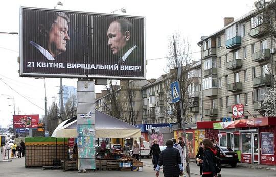 """Ukraine """"xài chùa"""" hình ảnh Tổng thống Putin, Nga đáp trả hài hước  - Ảnh 2."""
