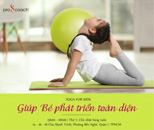 Yoga cho trẻ tại Golden Hearts Procoach - Ảnh 1.
