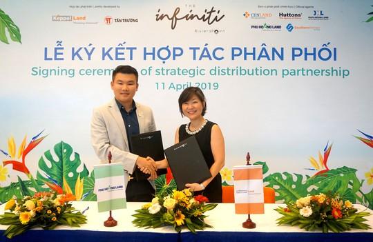 Phú Hoàng Land hợp tác với Keppel Land phân phối dự án The Infiniti - Ảnh 1.