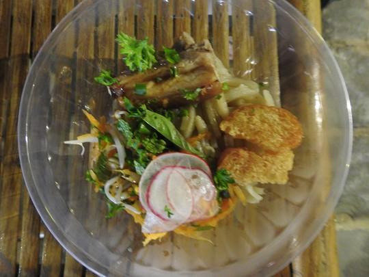 Độc đáo liên hoan ẩm thực quốc tế Thách thức Cao Lầu tại Hội An - Ảnh 14.