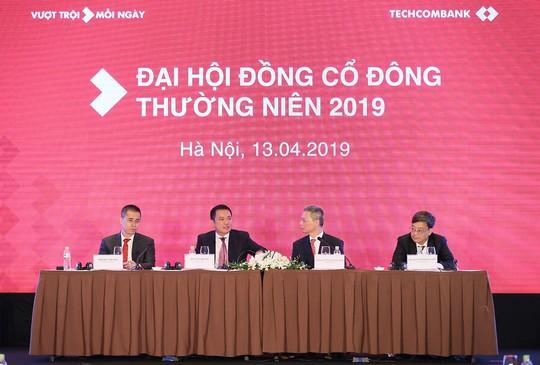 Techcombank đặt mục tiêu lợi nhuận trước thuế khủng 11.750 tỉ đồng - Ảnh 1.