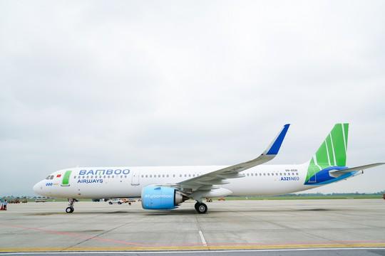 Bamboo Airways đón thêm át chủ bài Airbus A321NEO - Ảnh 1.