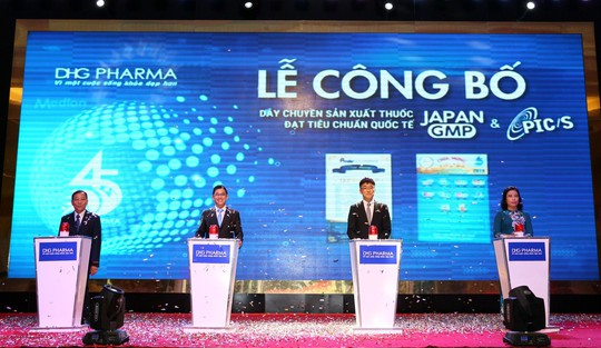 Công bố 2 tiêu chuẩn PIC/S và JAPAN-GMP, DHG góp phần nâng tầm thuốc Việt - Ảnh 1.