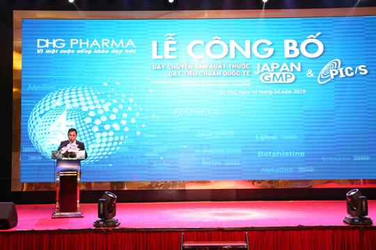 Công bố 2 tiêu chuẩn PIC/S và JAPAN-GMP, DHG góp phần nâng tầm thuốc Việt - Ảnh 2.