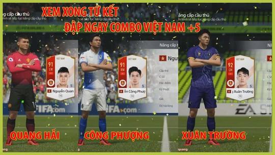 Ngôi sao bóng đá Việt Nam lên game online - Ảnh 1.