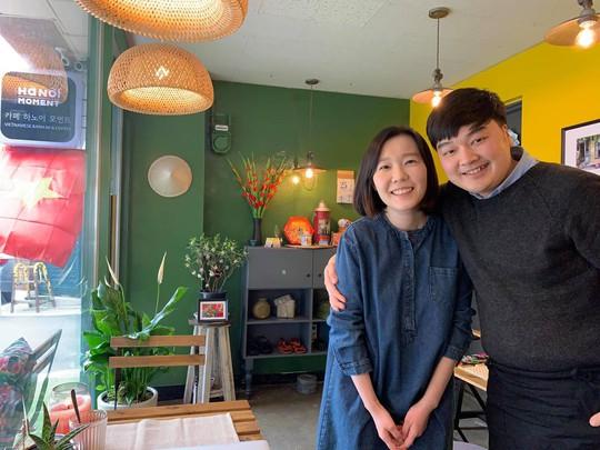 Quán cà phê, bánh mì Hà Nội giữa lòng Seoul - Ảnh 2.