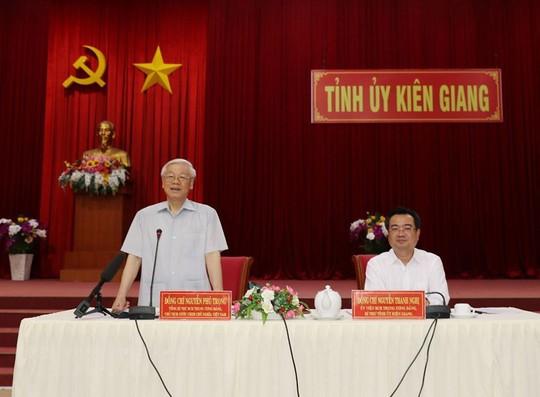 Hình ảnh Tổng Bí thư, Chủ tịch nước Nguyễn Phú Trọng làm việc ở Kiên Giang - Ảnh 8.