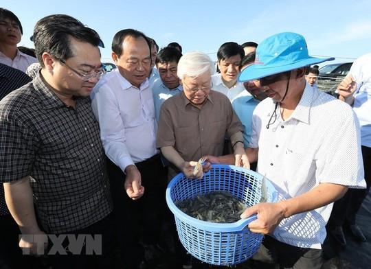 Hình ảnh Tổng Bí thư, Chủ tịch nước Nguyễn Phú Trọng làm việc ở Kiên Giang - Ảnh 2.