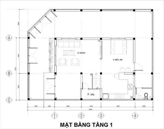 21 cửa kính giúp ngôi nhà Sài Gòn không có góc nào tối - Ảnh 11.