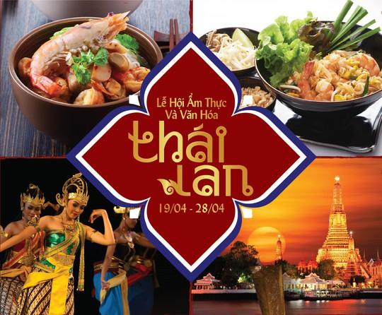 Lễ hội Ẩm thực và Văn hóa Thái Lan tại Windsor Plaza - Ảnh 1.
